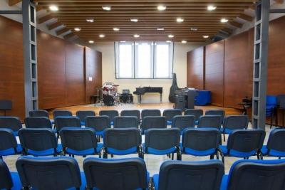 Interior de l'Escola Municipal de Música Claudi Arimany