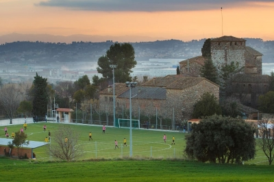 Zona esportiva de Llerona