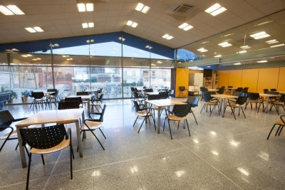 Interior del Casal d'Avis i Centre Social de Bellavista