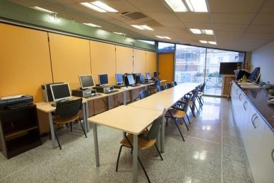Aula d'ofimàtica del Casal d'Avis i Centre Social de Bellavista