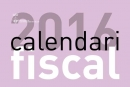 Disponible del calendari fiscal 2016