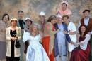 Els actors i actrius de l'obra 'El enfermo imaginario'