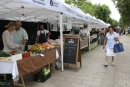 El mercat està situat a la Rambla des del mes de juliol de 2011