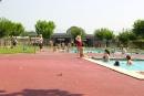 Imatge de les piscines d'estiu del Complex Esportiu Municipal Les Franqueses