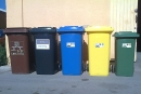 Els cinc contenidors de recollida selectiva