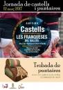 Cartell de la Jornada de castells i puntaires de les Franqueses