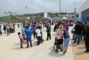 La festa d'inauguració dels Patis Oberts a l'Escola Colors el 2016