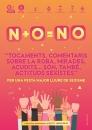 """Cartell de la campanya """"N + O=NO"""""""