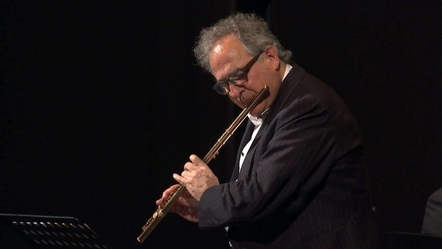 Claudi Arimany, flautista reconegut internacionalment