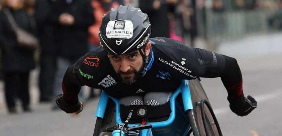 Jordi Madera, esportista d'elit. Foto: Antonio Romero