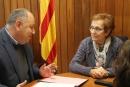 Signatura del conveni entre l'Ajuntament i el Xiprer