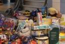 Imatge de les joguines recollides al Nadal 2016