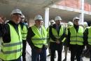 Visita a les obres del Centre Cultural de Corró d'Avall