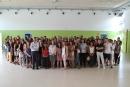 Foto de grup dels assistents a la Trobada Inaugural