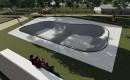 Imatge virtual del nou bol de les pistes d'skate