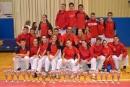 Equip del Karate Nokachi present al Campionat de Catalunya de katas i kumite
