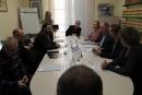 Reunió amb l'Alcalde i amb l'equip de govern