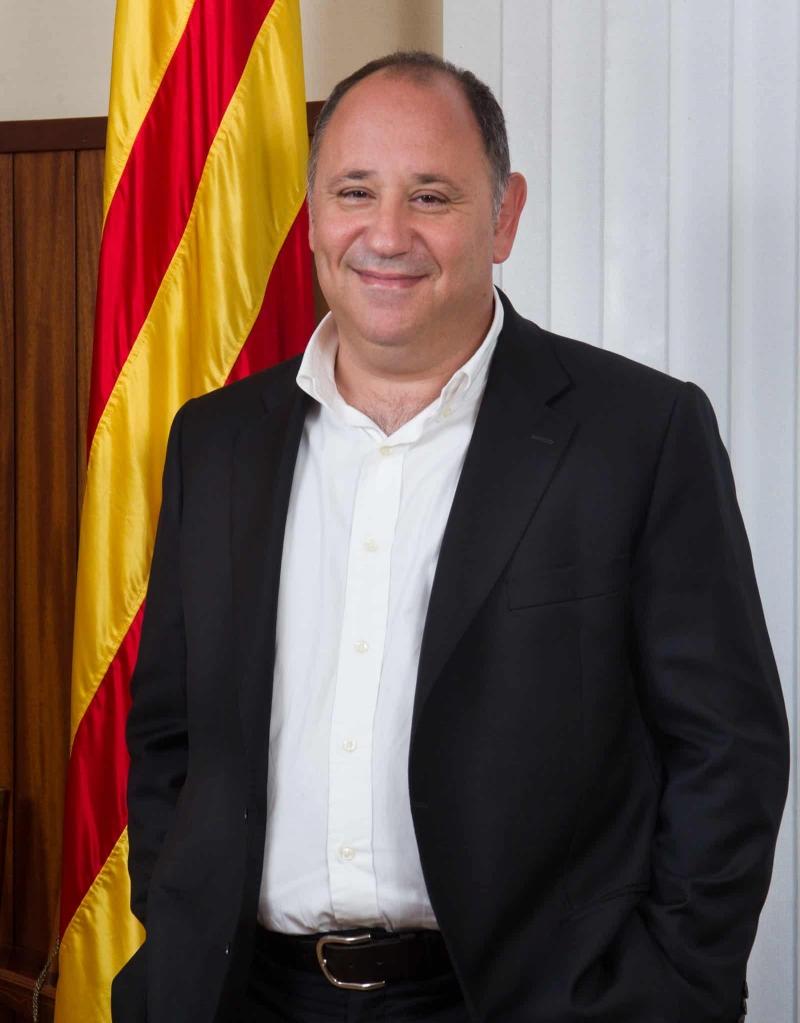 Alcalde Francesc Colomé