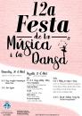 Cartell Festa de la Música i la Dansa 2019