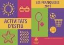 Imatge llibret activitats d'estiu 2019