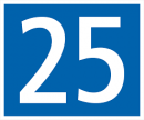El 25, número de desempat
