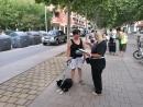 Informadores ambientals a la rambla de la carretera de Ribes