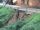 Resultat de les tempestes al camí veïnal de Marata
