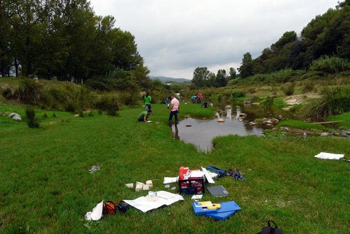 Jornada de descoberta del riu Congost al seu pas per Llerona
