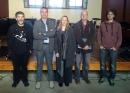 Visita de la regidora d'Educació de Cunit