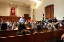Visita a l'Ajuntament dels alumnes de tercer de l'Escola Joan Sanpera