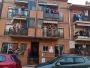 Festa de disfresses al carrer Cantàbria