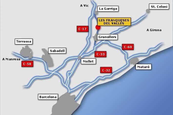 Mapa de carreteres