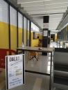 interior de la cafeteria de l'Espai Can Prat