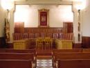 Interior de la Sala de Plens de l'Ajuntament de les Franqueses