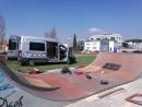 Feines de reparació de l'skatepark de Cal Gavatx