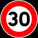 Velocitat limitada a 30 km/h