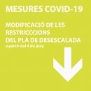 Restriccions a partir del 4 de juny