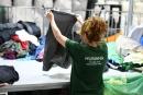 Recollida selectiva de roba de la Fundació Humana
