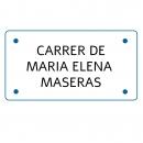 Carrer de Maria Elena Maseras