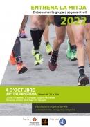 Cartell Entrena La Mitja 2022