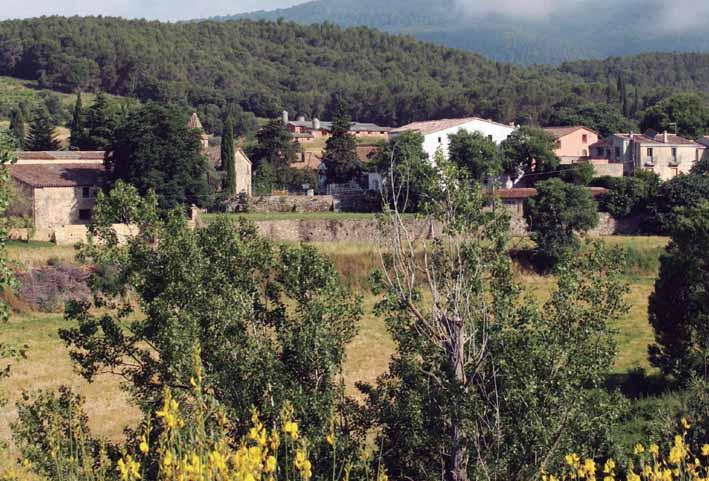 Nucli del poble de Corró d'Amunt