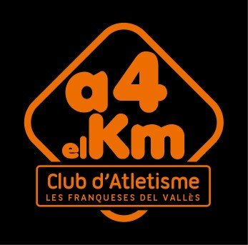 Logotip Club Atletisme A 4 el km