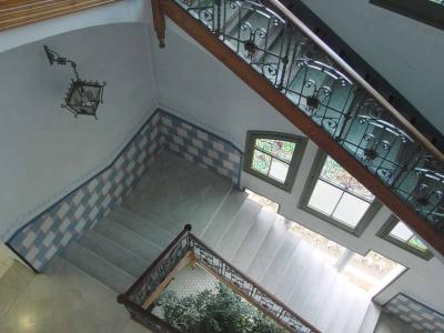 Interior de l'edifici modernista de l'Ajuntament