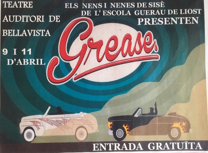 Cartell de Grease